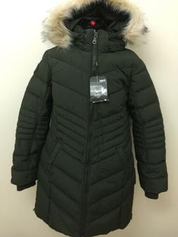 Pajar CANADA QUEEN Down Long Winter Cold Weather Parka Green