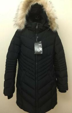 Pajar CANADA QUEEN Down Long Winter Cold Weather Parka Black