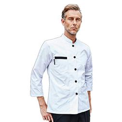 chef uniform long sleeve single