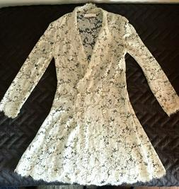 CHLOE Lace Coat & Dress - Short - Bridal OR Other Occasion -