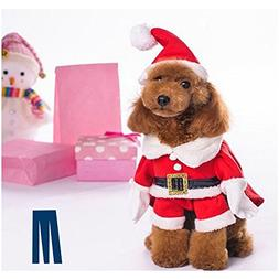 Mikayoo Christmas Costumes for Small Dog Medium Dog Or Cat,