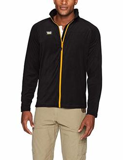 Caterpillar Men's Concord Fleece Jacket, Black, Large