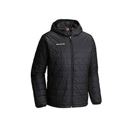 Columbia Mens Crested Butte Omni-Heat Hooded Jacket, Black