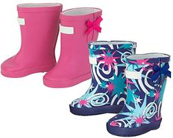 2 Pack of Doll Rain Boots for 18 Inch Dolls | 1 Blue Star Pr