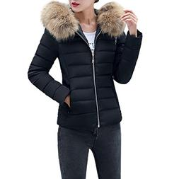 BSGSH Women's Down Jacket Winter Warm Down Coat Thickened Pu