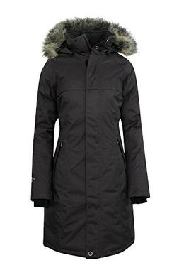 COLUMBIA Women's Flurry Run Down Long Omni Heat Jacket Coat