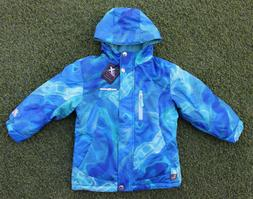 girl s winter jacket blue sky full