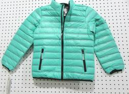 Girls Winter Coat Jacket - Aqua - SIZE M 7/8