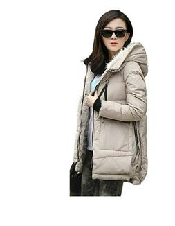 Orolay Hooded Down Jacket Winter Coat Women Ladies Casual Th