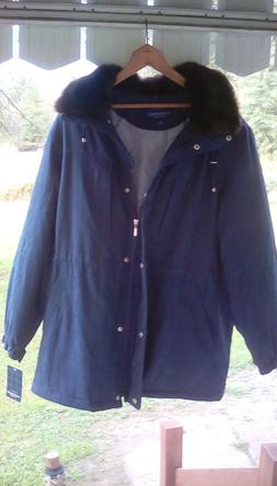 Hooded Mackintosh Women's Winter Coat BRAND NEW