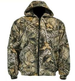 Insulated Hunting Jacket Coat Camo Burly Tan WFS Element Gea
