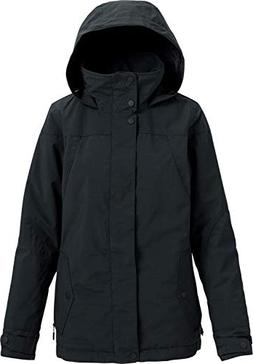 Burton Women's Jet Set Jacket, True Black Heather, Medium