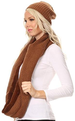 Cool Girl Long Soft Scarf - Brown