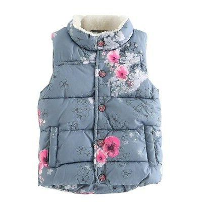 2-7Y Newborn Girls Floral Coat Tops