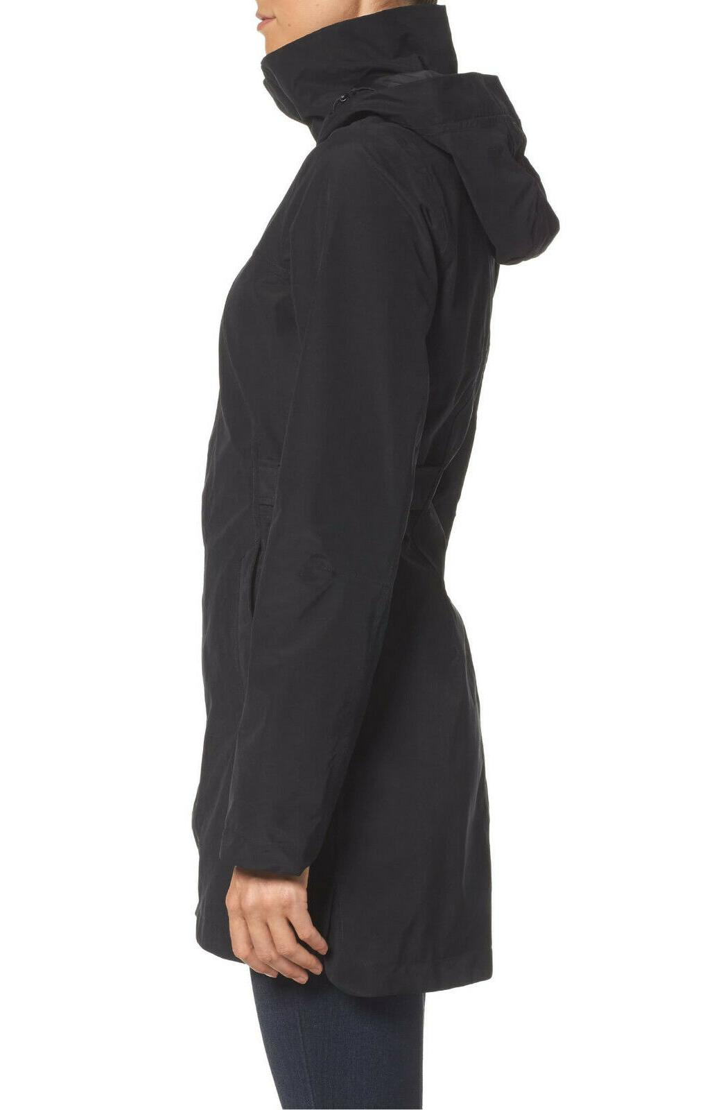 $200 THE NORTH FACE Laney II Trench COAT WINTER BLACK INSULATED