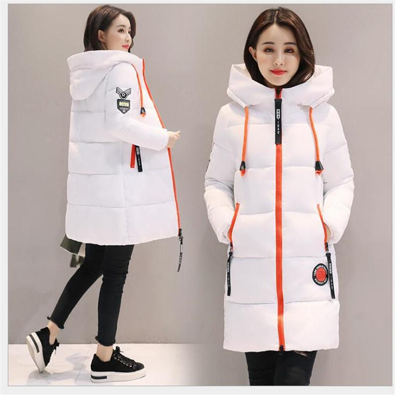 2019 jacket Thick Parkas Hooded Female Outwear Warm Padded Snow <font><b>Sale</b></font>
