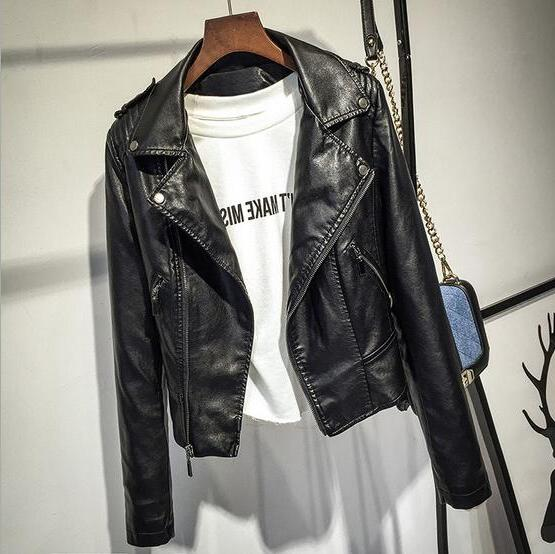 2019 New Casual Motorcycle Leather Outwear Hot <font><b>Sale</b></font>