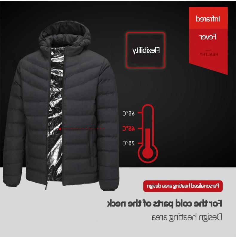 2019 Jackets Electric Battery Sleeves Heating Jackets Warm <font><b>Winter</b></font> Thermal Clothing