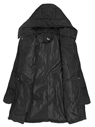 4HOW Women's Puffer Down Jacket Winter Parka Coat US Size