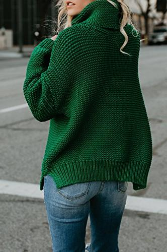 Sleeve Sweater Knit Pullover