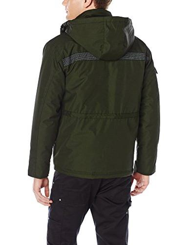 Caterpillar Men's Heavy Parka, Army