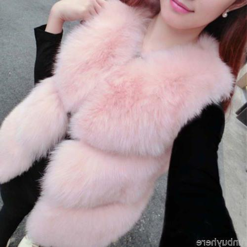 Chic Women Fox Coat Outwear Top