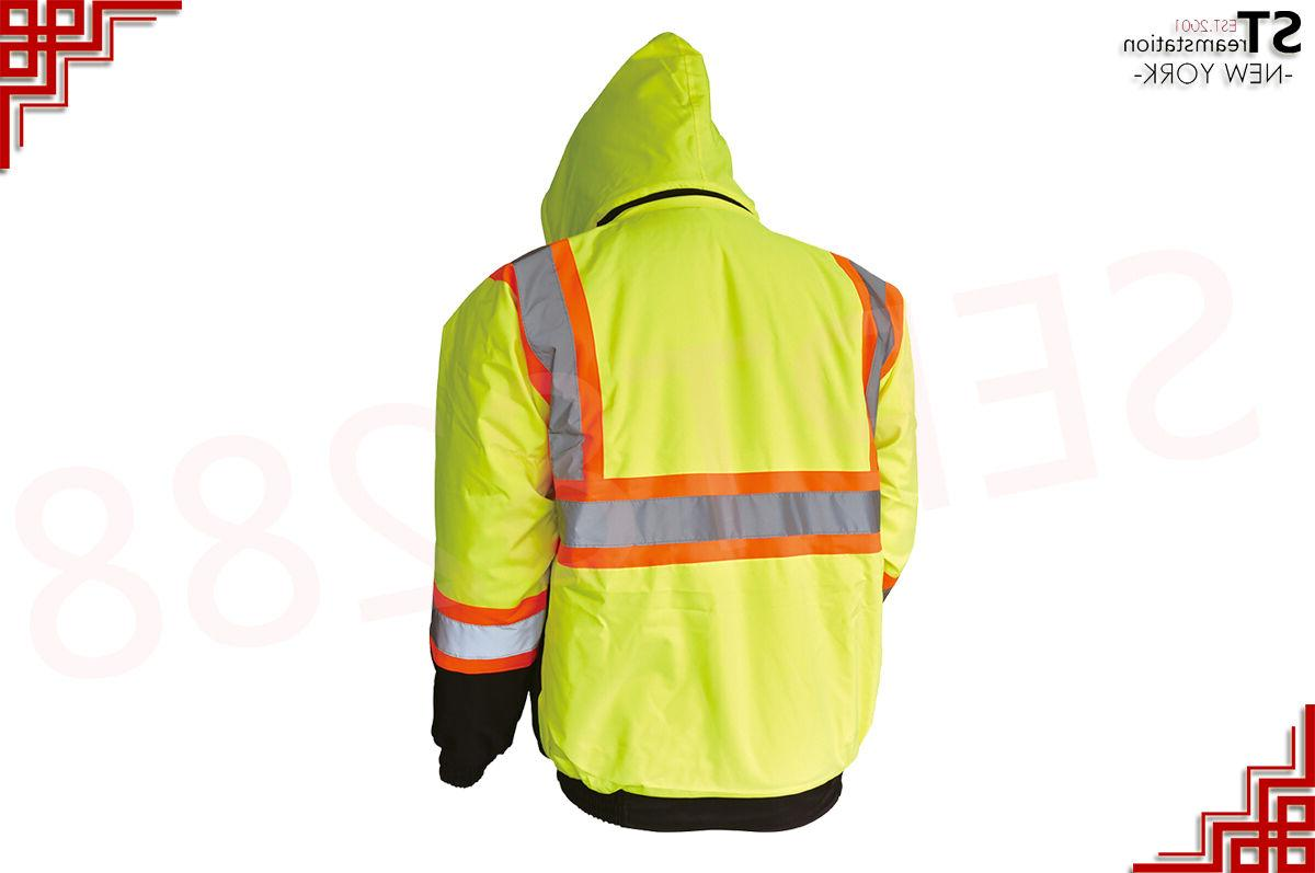 Hi-Vis Insulated Reflective with