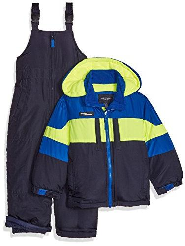 London Fog Toddler Boys' 2-Piece Snow Bib and Jacket Snowsui