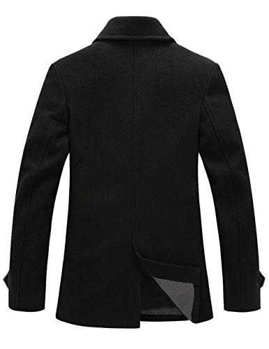Match Mens Blend Classic Coat Coat ,