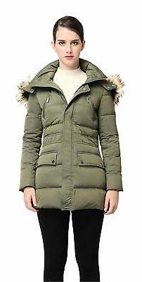 Orolay Women's Thickened Down Jacket Winter Coat - Choose SZ