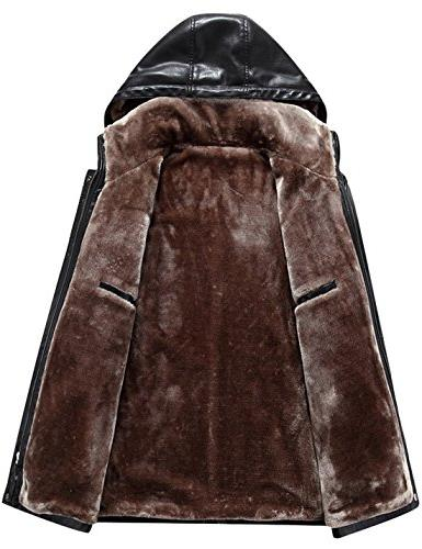 Tanming Leather Real Fur Hooded Leather Jacket