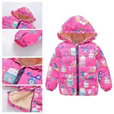 2-7Y Toddler Baby Boys Warm Outwear