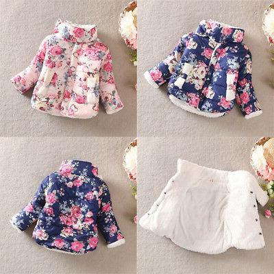 Toddler Baby Floral Thick