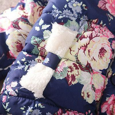 Toddler Baby Girls Floral Thick