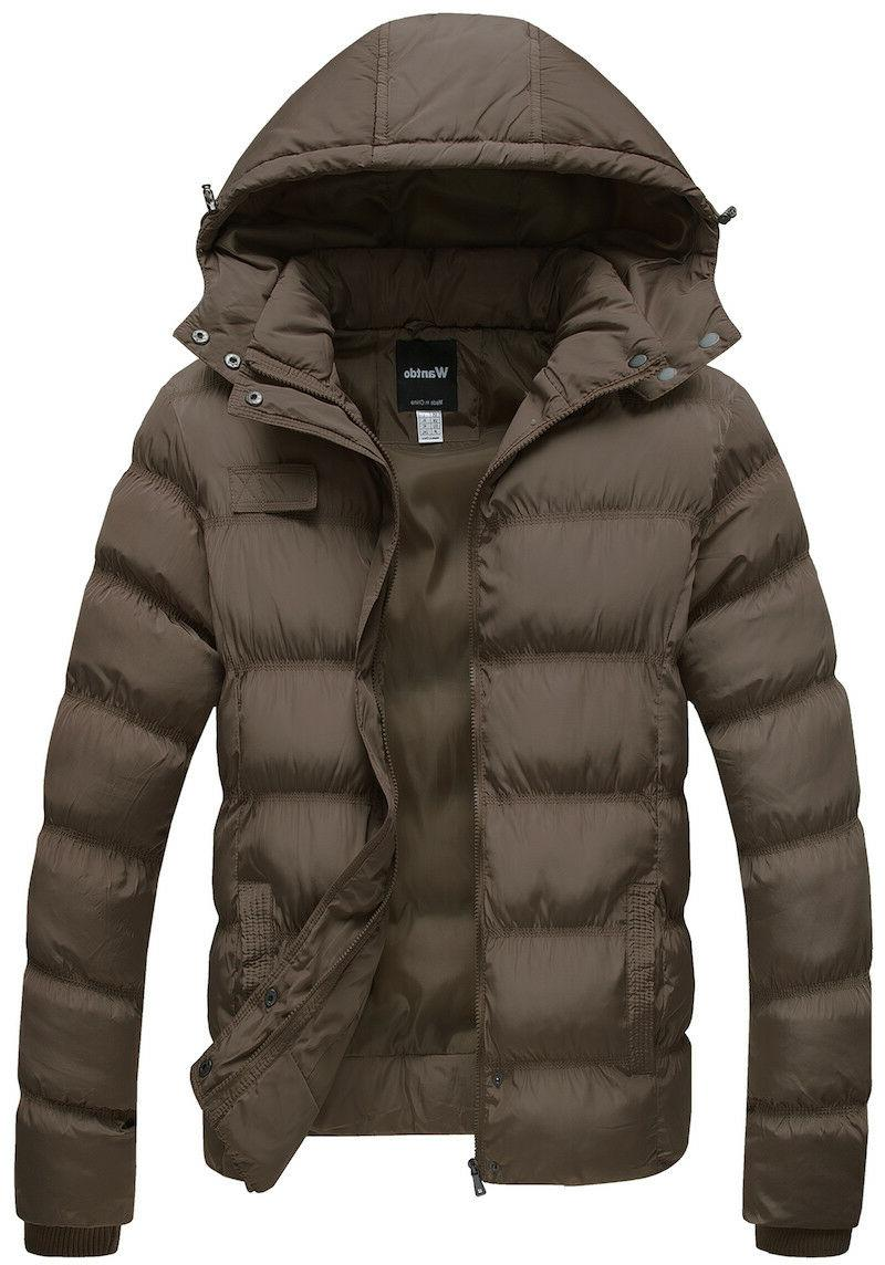 Wantdo Winter Cotton Coat Puffer Jacket with