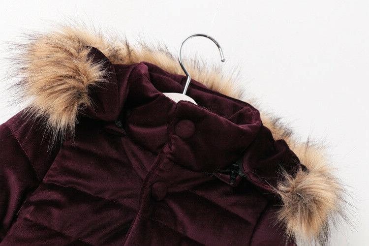 Winter Long Padded Hooded Jacket