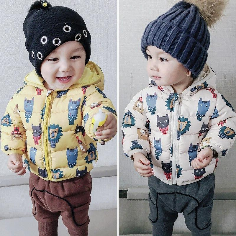 baby font b winter b font hooded