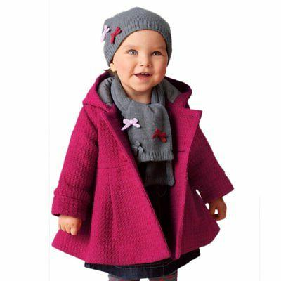 Baby Hooded Trench Jacket Outerwear US