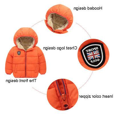 Unisex Winter Girls Boys Baywell Warm Little Outwear
