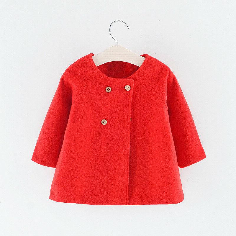 Baby Trench Jacket Kids Outerwear Overcoat