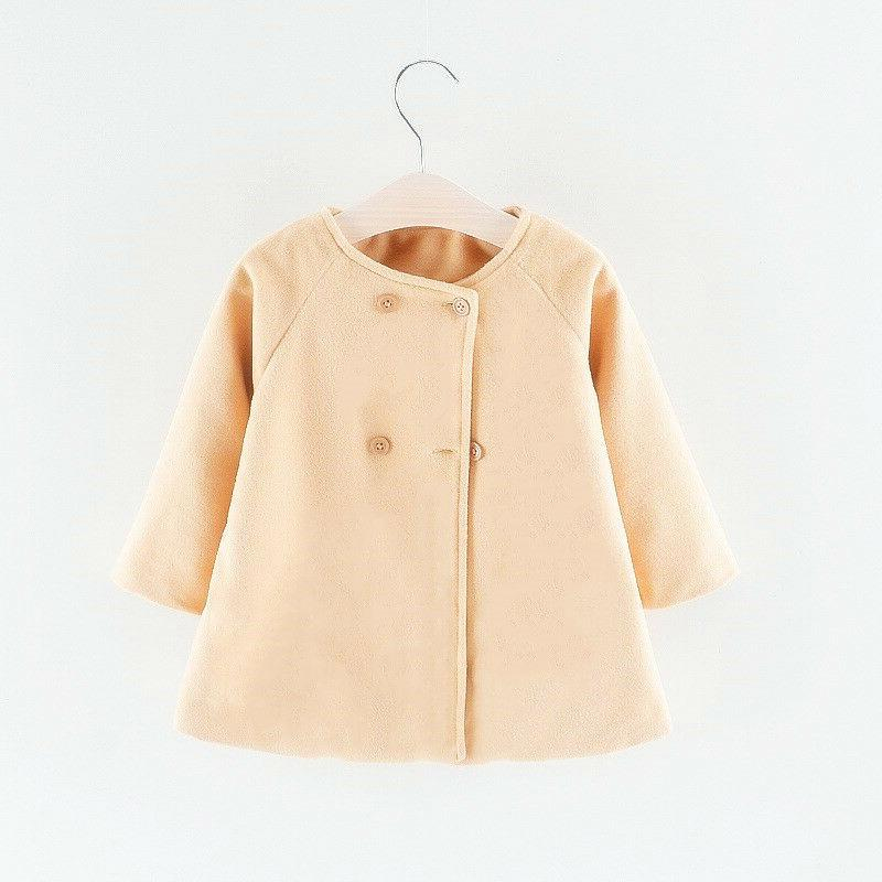 Baby Toddler Trench Jacket Outerwear Overcoat