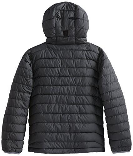Columbia Big Boys' Powder Lite Puffer Black, Medium