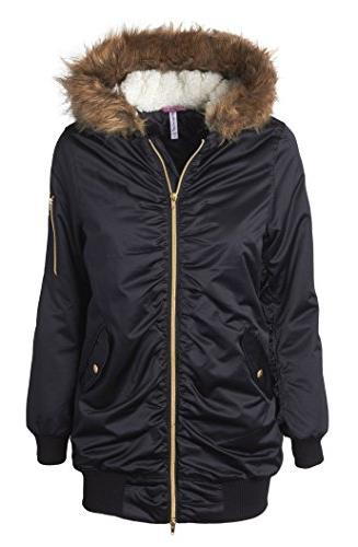 bomber winter puffer jacket