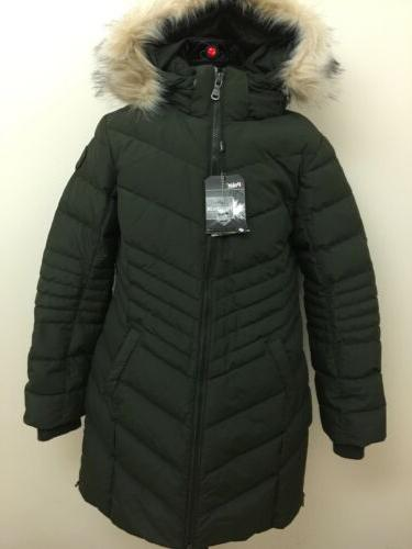 Long Winter Parka Coat XL