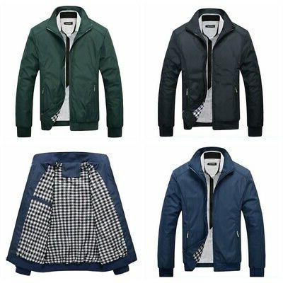 Casual Slim Fit Winter Color Coat Outerwear