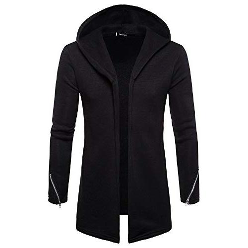 clearance men s trench coat with hood
