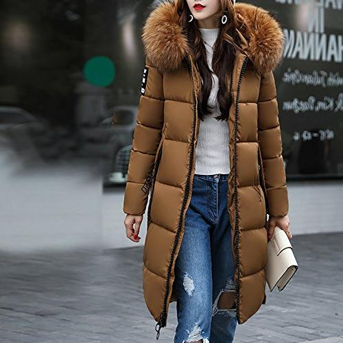 Coats For Women Winter Sale,Clearance Casual Thicker Winter Slim Down Coat