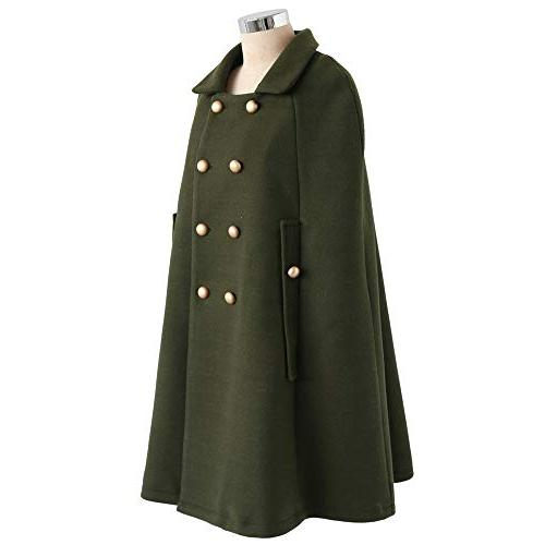 Chicwish Women's Double-Breasted Down Green Coat