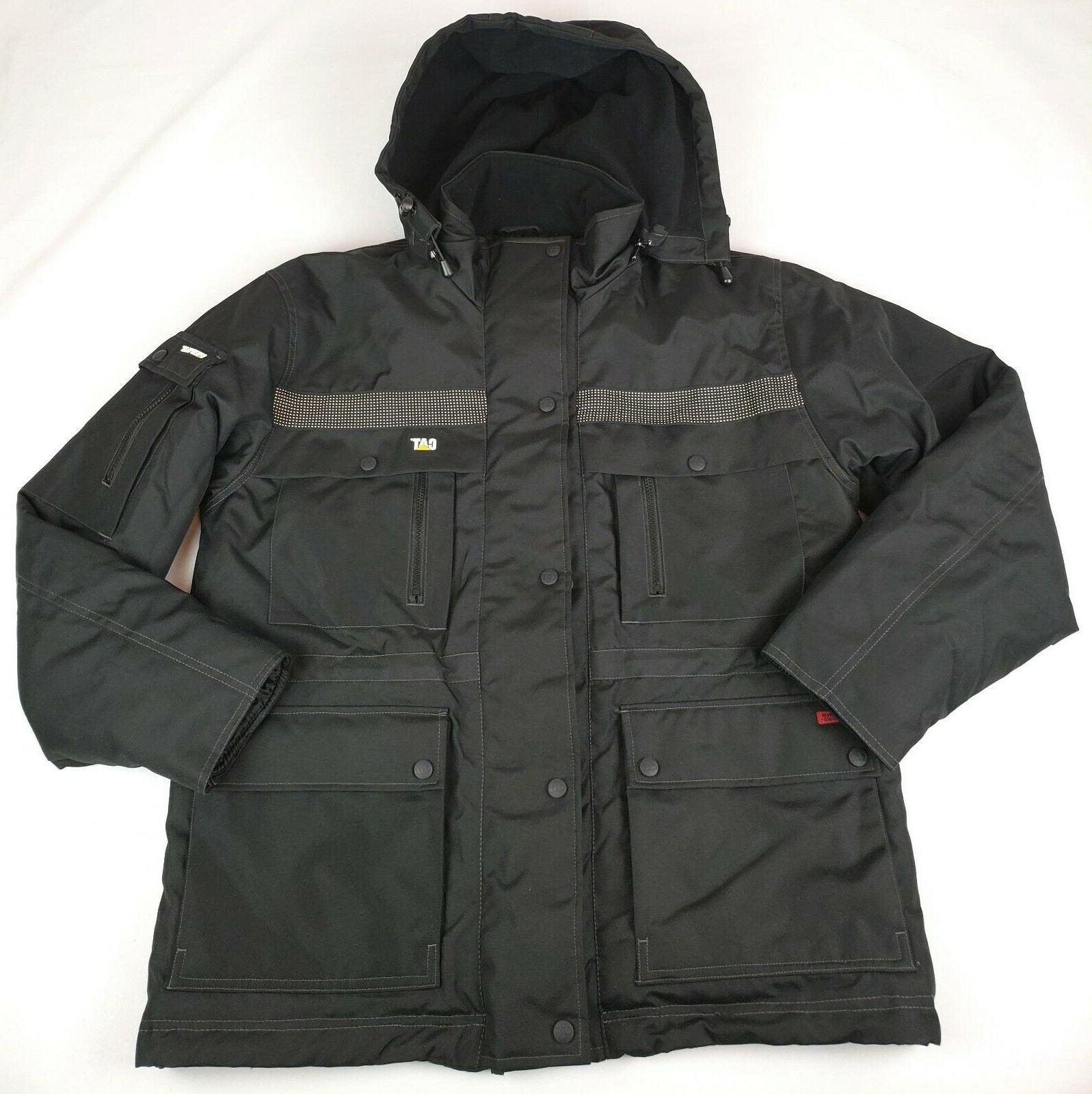 erpillar men s heavy insulated parka coat