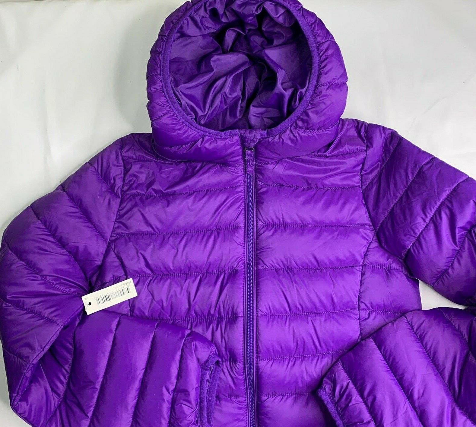Coat Youth Girls Packable NWT Size